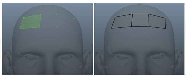 3D Topology -Retopology in Maya – Aneta V